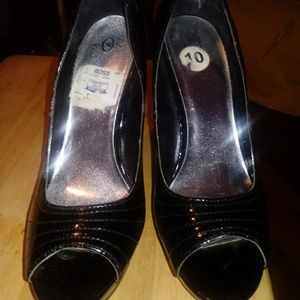 Joey High Heel Shoes Black